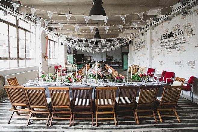 Boho-Hochzeit im #Werkloft, Fabrik 23 Berlin © Hochzeitsfotograf Berlin www.hochzeitslicht.de #Hochzeitslocation