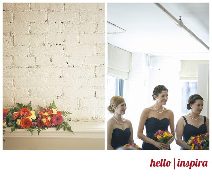 Downtown Toronto Wedding: Karen and Dan in Crush Wine Bar, Hair and Makeup by Evolve Hair studio