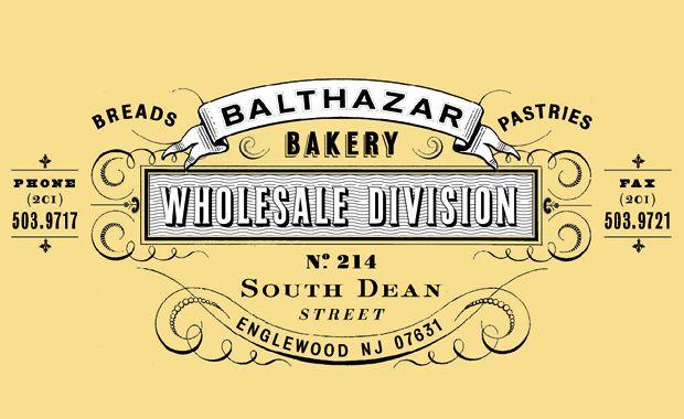 Balthazar Bakery Logo By Mucca Design Pinterest