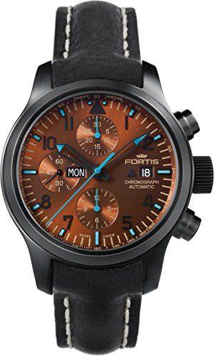 Fortis B-42 Blue Horizon 656.18.95.L Herrenchronograph Streng Limitierte Auflage - http://uhr.haus/unbekannt/fortis-b-42-blue-horizon-656-18-95-l-streng-auflage