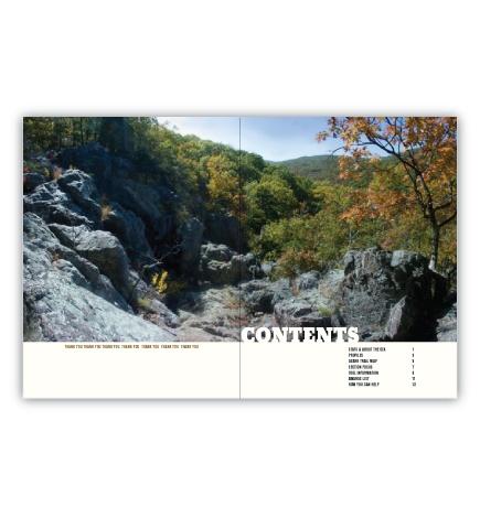 OTA Magazine Contents Page Spread Design
