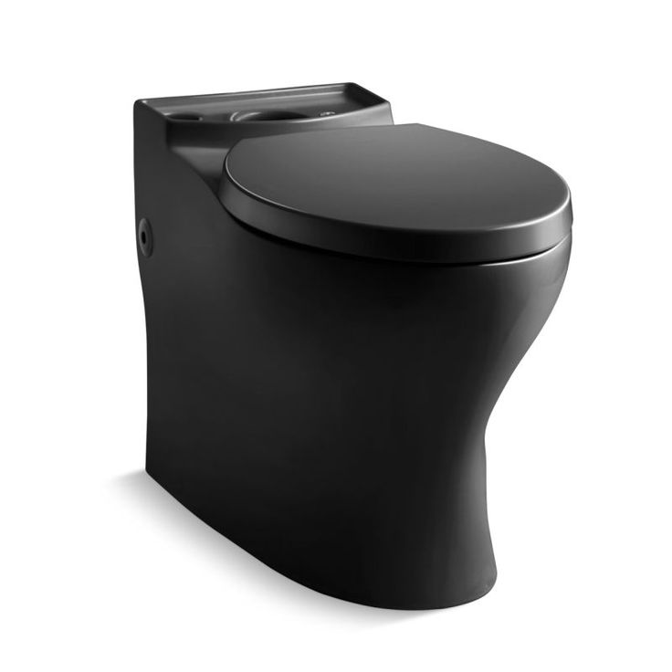 White Toilet With Black Seat. Kohler K 4353 Persuade Elongated Comfort Height Toilet Bowl Only  Seat Not Incl Black Best 25 toilet ideas on Pinterest Modern