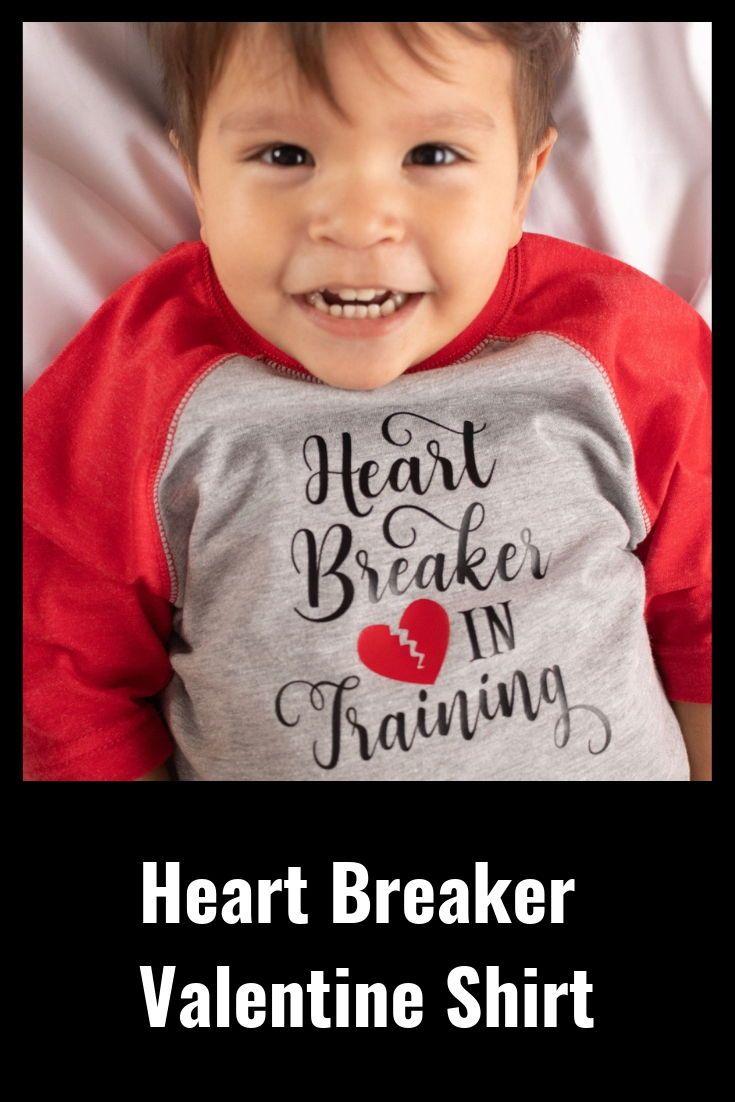 Little Heart Breaker Toddler T-Shirt Cute Valentine/'s Day Gift