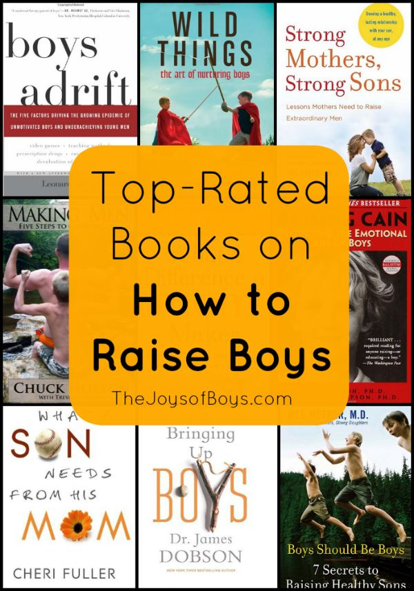Top-Rated Books on How To Raise Boys -Raising boys isn't for the weak!- The Joys of Boys