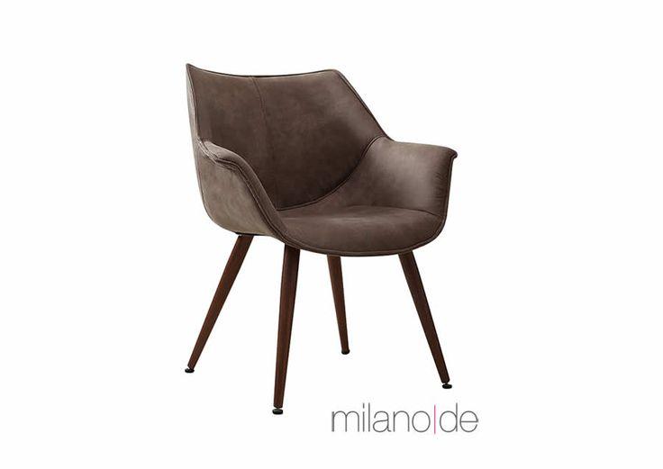 Καρέκλα Albertino με δυνατότητα επιλογής απόχρωσης και με μεταλλικά πόδια. Μια ιδιαίτερα αναπαυτική καρέκλα όπου η κλίση που έχουν τα πόδια της προσθέτει επιπλέον σταθερότητα.  https://www.milanode.gr/product/gr/2372/%CE%BA%CE%B1%CF%81%CE%AD%CE%BA%CE%BB%CE%B1_albertino.html