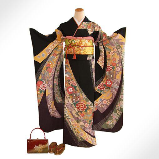 Knot design kimono