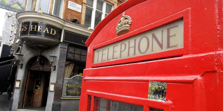 Hva er vel London uten røde telefonkioskerog dobbeltdekkere?