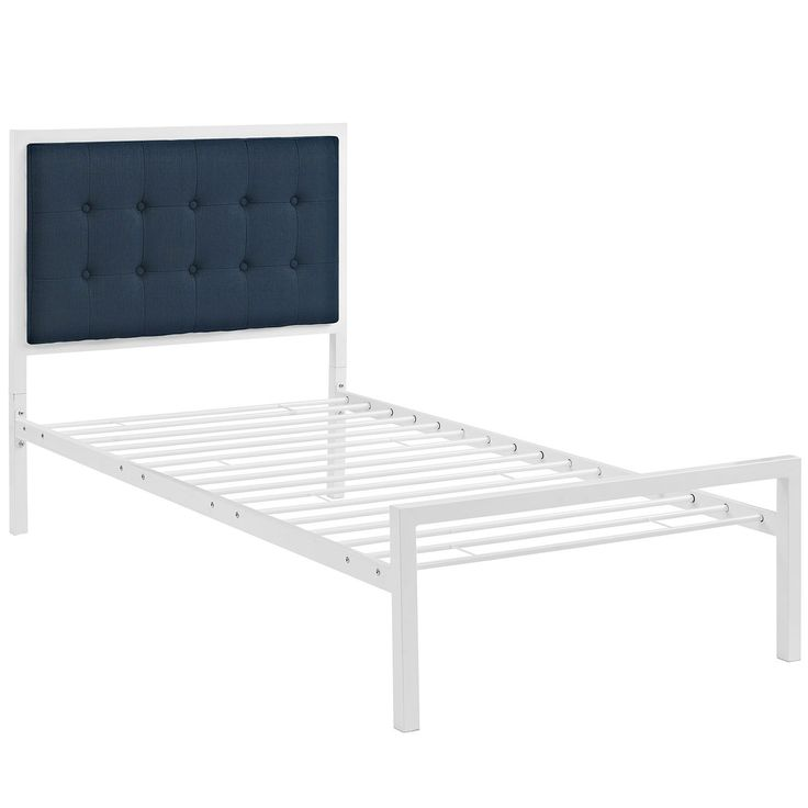 Millie Twin Bed - White Azure