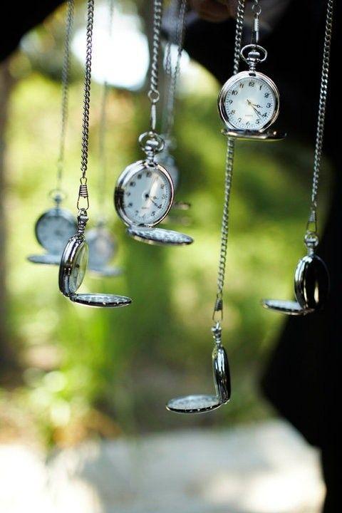 pocket watch for spring wedding, alice in wonderland wedding inspiration #2014 Valentines day wedding #Summer wedding ideas www.dreamyweddingideas.com