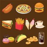 http://www.freepik.com/index.php?goto=74&idfoto=1016426   #Food #Coffee #Dog #Pizza #Ice #cream #Color #Ice #Fast #food #Sandwich #Cream #Colour #Fast #Designs #Hotdog #Onion Donuts #Chips #Rings #Hamburguer #Taco