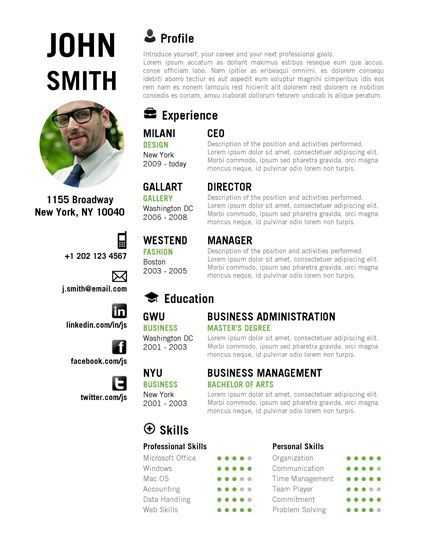 Professional CV Template Bundle CV Package with Cover Letters for - example of business analyst resume