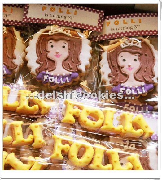 Princess Sofia Cookies.. Kurang mirip ya :p