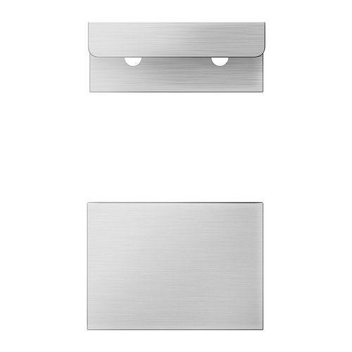 BLANKETT Uchwyt IKEA Szlachetne linie uchwytów nadają kuchni minimalistyczny, nowoczesny charakter.
