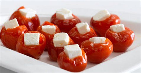 Fylt paprika med apetina.