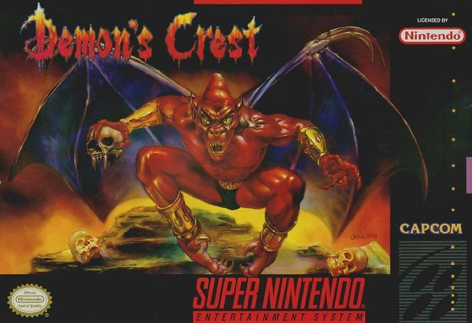 Demon's Crest (Super Nintendo, SNES) - Reproduction Game Cartridge with Mini Box and Manual
