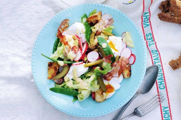 Peultjes-radijssalade met ei (375 Kcal)