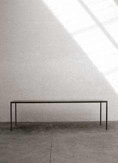 maarten van severen steel table ST93.