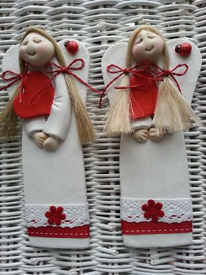 Pasja dekorowania                                                 : Aniołek na Mikołajki