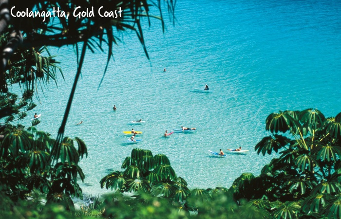 Gold Coast Beach Guide | At the most southern end of the Gold Coast, the old-school Aussie surf culture precinct of Coolangatta is home to famous surf breaks and the annual Quiksilver Pro event.