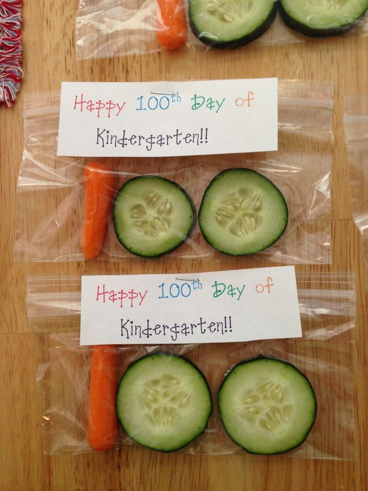 100th day of school healthy snack - Lots of other 100th day food options at the post as well!