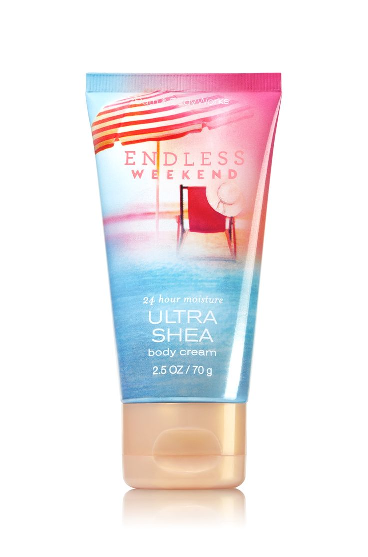 Endless Weekend Travel Size Body Cream - Signature Collection - Bath & Body Works