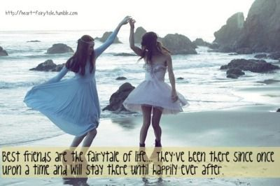 best friend quotes | ... quotes typography sayings best friends fairy tale text sayings via