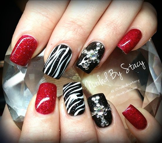 Pix For > Rocker Nail Designs