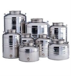 #Contenitori in acciaio #inox per #olio www.trinoxshop.com