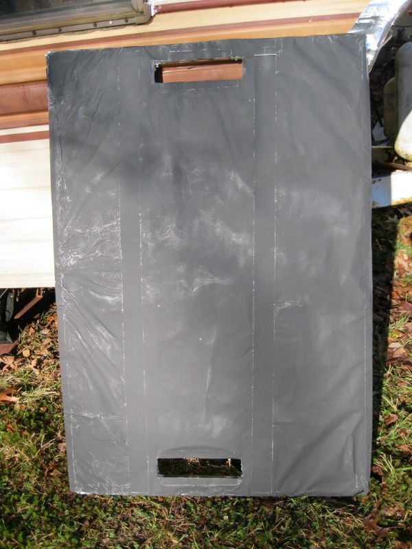 Finished passive solar window heater ready to use that actually does work ---