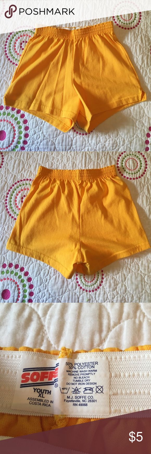 NWOT Soffee shorts - golden yellow // NWOT // smoke free and pet free home // - perfect lounging shorts for summer! Bottoms Shorts