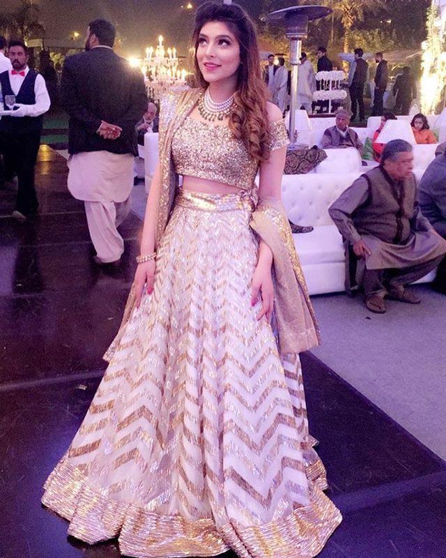 "339 Likes, 16 Comments - Diva'ni (@divaniindia) on Instagram: ""Zainab Reza looking effortlessly elegant in a classic Diva'ni chevron lehenga ✨ #CelebrateLove with…"""