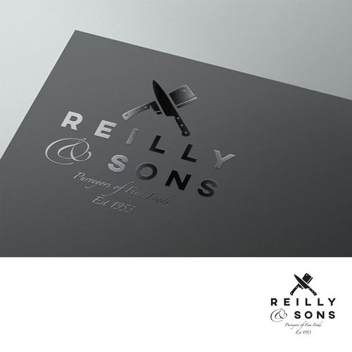 Reilly & Sons - Reilly and Sons - A logo needed for a new online Meat retailer The business is an online butcher service, focusing on the high end of the market. Target audience is families, matur...