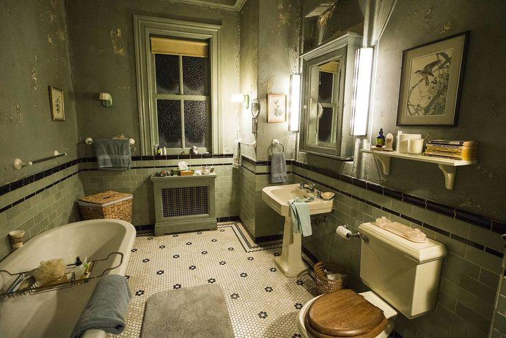 Bates Motel House Bathroom