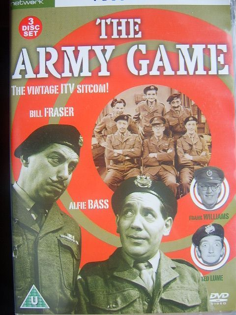 The Army Game very rare, popular 50's TV series on DVD - for more rare DVDs click here http://nostalgiastore.co.uk/?dvds-tv-shows,17,1