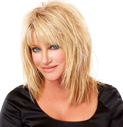 Image result for over 50 blonde long shag hairstyles