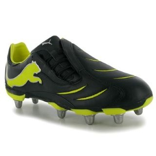 POWER CAT RUGBY 2 10 NERO GIALLO UOMO
