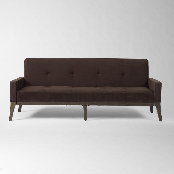 clean modern sofa bed west elm furniture pinterest. Black Bedroom Furniture Sets. Home Design Ideas