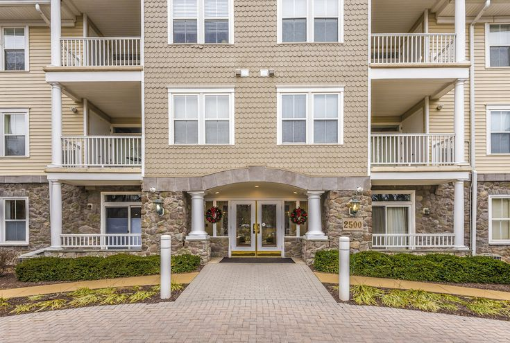 Chris Reeder of Long & Foster REALTORS® just listed 2500 Waterside Drive Unit 106 Frederick MD 21701 This bright & open first floor condo has views of the creek and is nicely upgraded with hardwood floors, tray ceilings, crown molding, grab bars in master bath, new hot water heater, HVAC, washer and dryer, & newer refrigerator. Secure access to building and garage. Storage unit included. The community amenities here are bountiful!