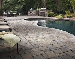 Custom Gunite pool with beautiful paver deck.