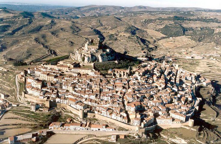Vista aerea de Morella