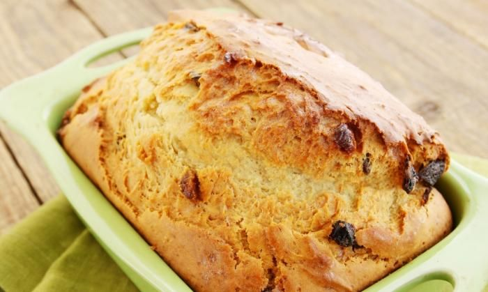 I found a great recipe for Traditional Raisin Bread