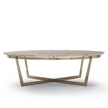 Flexform Vito Coffee Table - Round Coffee Table - Modern Coffee Table | SwitchModern.com