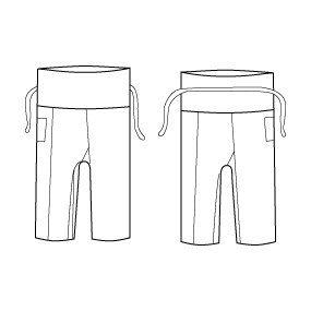 burda pattern for thai fisherman pants