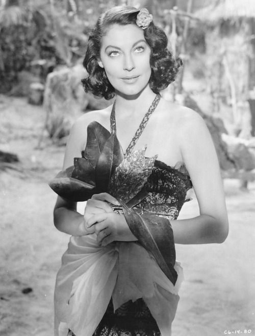 Ava Gardner in The Little Hut, (1957)
