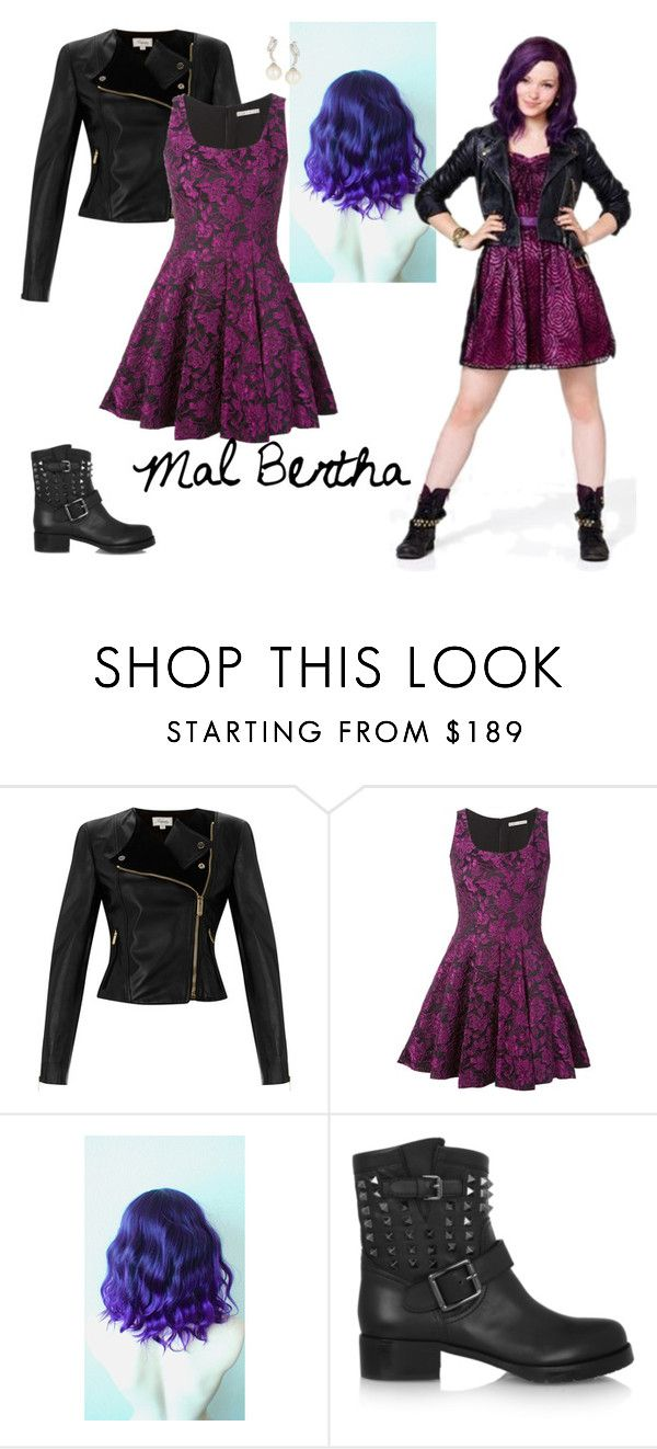 """Mal, First date with Ben"" by hollywood-girl-13sc ❤ liked on Polyvore featuring Temperley London, Alice + Olivia, Valentino and Belpearl"