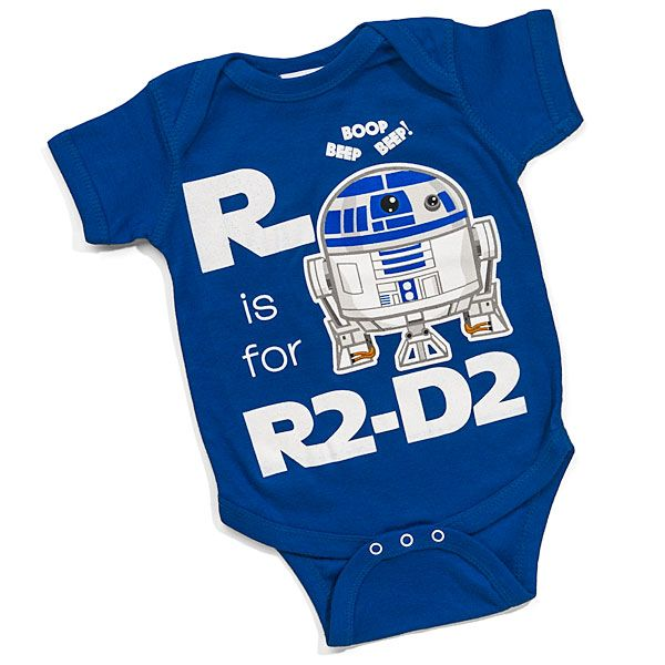 V is for Vader: geeky and nerdy baby fashion from ThinkGeek | Offbeat Families pinning twice. Go here!