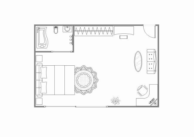 Floor Plan Templates Free Lovely Main Bedroom Floor Plan