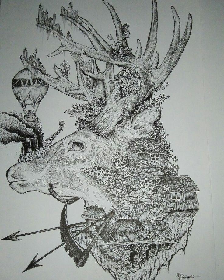 Deer live death