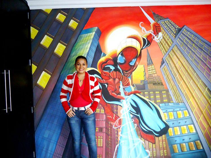 Mural de spiderma