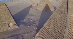 When you hear the word pyramid, you probably think about ancient Egyptian pyramids or Mesoamerican pyramids towering high over the jungle canopy. There are